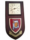 BATUS British Army Training Unit Suffield Regimental Wall Plaque Clock